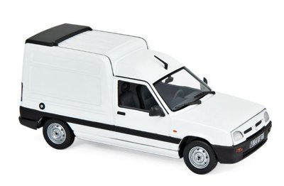 Norev 1:43 Renault Express 1995 Ice White.