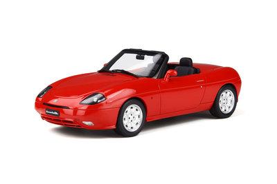 Otto Mobile 1:18 Fiat Barchetta 168 Rosso Corsa. Levering maart 2020
