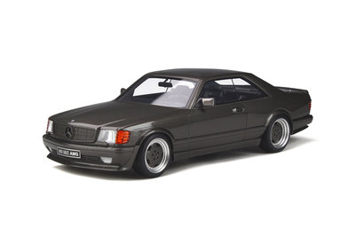 Otto Mobile 1:18 Mercedes-Benz 560 SEC AMG (C126) Anthracite Grey. Levering maart 2020