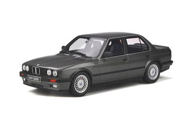 Otto Mobile 1:18 BMW E30 325i Sedan Dolphin Grey. Levering april 2020