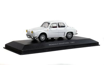 Solido 1:43 Renault Dauphine 1958 wit