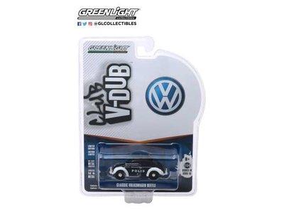 Greenlight 1:64 Volkswagen Beetle Trollveggen Norway Polis wit zwart Club Vee-Dub series 10