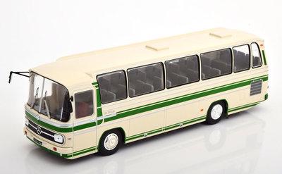 IXO 1:43 Mercedes O 302 -10R beige groen 1972