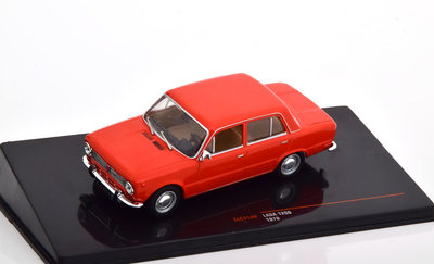 IXO 1:43 Lada 1200 Limousine 1970 rood