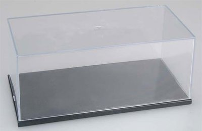 Master Tools / Trumpeter vitrine, showcase , Display Case 210x100x80 mm (binnenmaten) exc. schaalmodel