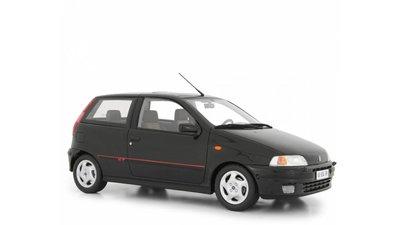 Laudoracing 1:18 Fiat Punto GT 1400 no1 Series 1993 zwart, oplage 150 stuks. Resin model