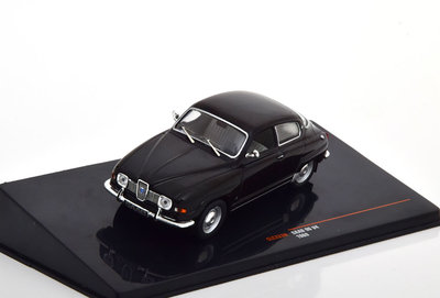 IXO 1:43 Saab 96 V4 1969 zwart
