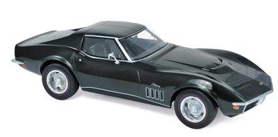 Norev 1:18 Chevrolet Corvette 1969 groen metalic / green