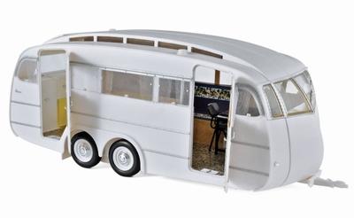 Norev 1:18 Henon caravan 1955 wit