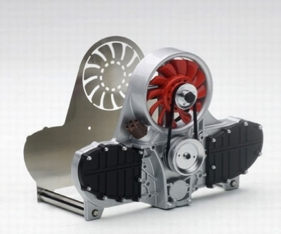 Autoart Design Porsche 911 Air-Cooled Engine Letter Holder