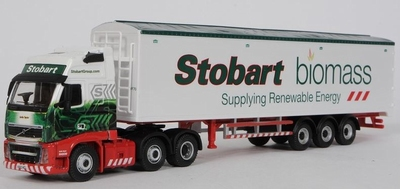 Atlas 1:76 Volvo FH Waking Floor Biomass Stobart