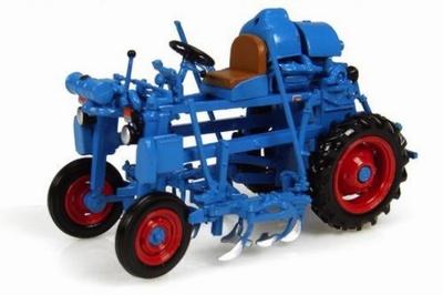 Atlas 1:43 Bobard BB-VW Tractor 1959 blauw