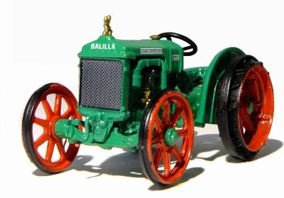 Atlas 1:43 Motomeccanica Balilla Tractor 1931 groen