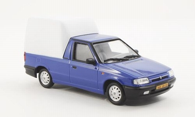 Abrex 1:43 Skoda Felicia pick-up blauw met wit 1996