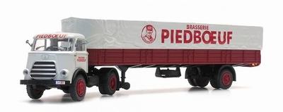 Artitec DAF trekker 1-as trailer cab. '59 Piedboeuf