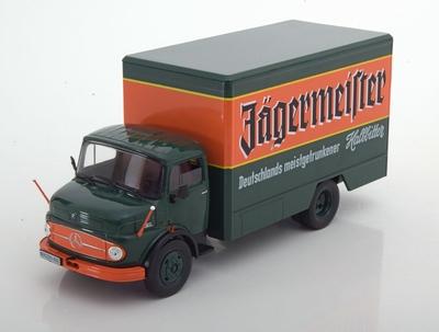 Atlas 1:43 Mercedes L 1113 Jagermeister Truck groen oranje