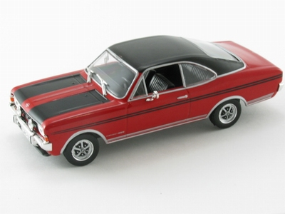 Altaya Ixo 1:43 Opel Commodore A Coupe GS E 1970 rood