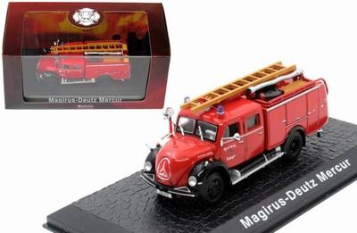Atlas 1:72 Magirus Deutz Mercur Fire Truck