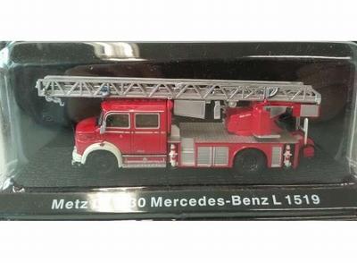 Atlas 1:72 Mercedes Benz L1519 Metz DKL 30 Feuerwehr