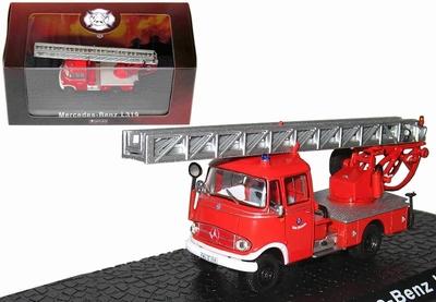 Atlas 1:72 Mercedes Benz L319 Fire Truck