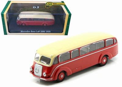 Atlas 1:72 Mercedes Benz LoP 3500 1935 rood creme bus