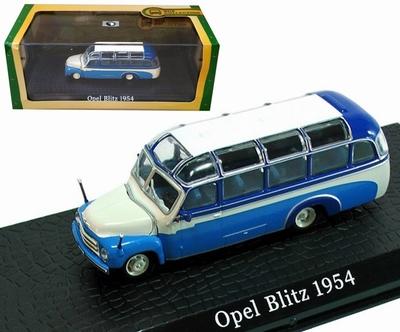 Atlas 1:72 Opel Blitz 1954 blauw wit