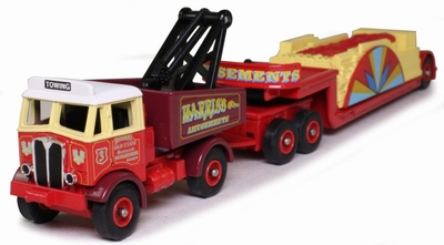 Atlas 1:76 Aec Mammoth Ballast & Load with Drawbar Traile