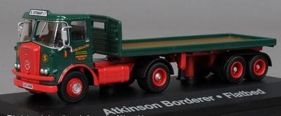 Atlas 1:76 Atkinson Borderer with flatbed trailer E Stobart
