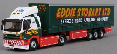 Atlas 1:76 Leyland Daf FT85 CF Curtainside Eddie Stobart