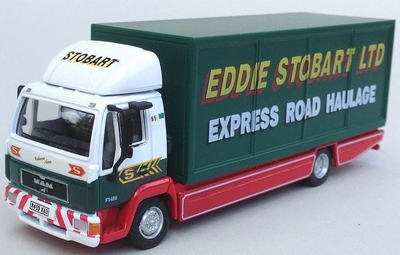 Atlas 1:76 MAN L2000 box Eddie Stobart