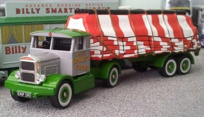 Atlas 1:76 Scammell Handyman + Sheeted Load Bily Smarts Cicu