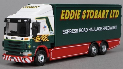 Atlas 1:76 Scania 94D box Eddie Stobart
