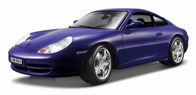 Bburago 1:18 Porsche 911 Carrera 4 NL blauw