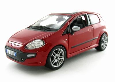 Bburago 1:24 Fiat Punto Evo 2010 NL rood