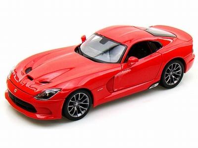 Bburago 1:43 Dodge Viper GTS SRT 2013 rood