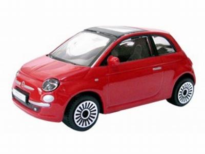 Bburago 1:43 Fiat 500 2008 rood