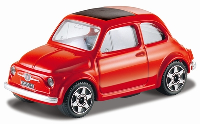 Bburago 1:43 Fiat 500 rood 1965