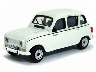 Bburago 1:43 Renault 4 1965 wit
