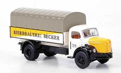 Brekina Berliet GLR 8 Bierbrauerei Becker PP truck