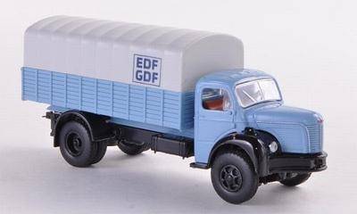 Brekina Berliet GLR 8 PP, EDF GDF vrachtwagen