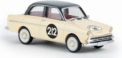 Brekina 1:87 DAF 750 Tulpen Rallye 212 beige TD