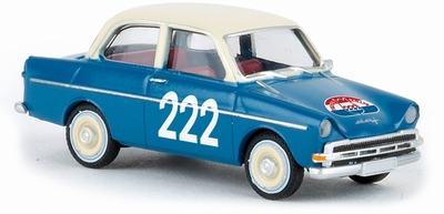 Brekina 1:87 DAF 750 Tulpen rallye 222 blauw TD