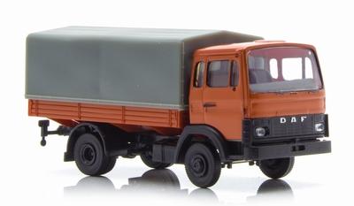 Brekina 187 Daf F 900 PP oranje grijs