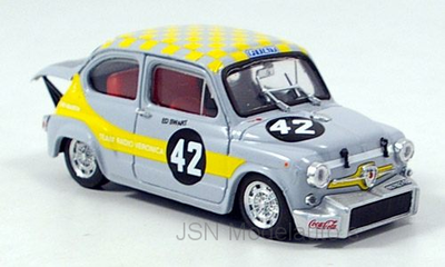 Brumm 1:43 Fiat Abarth 1000 Berlina No 42,  E. Swart 1969