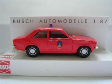 Busch 1:87 Opel Kadett brandweer Tilburg
