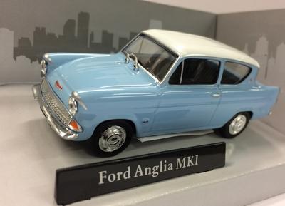 Cararama 1:43 Ford Anglia MKI blauw