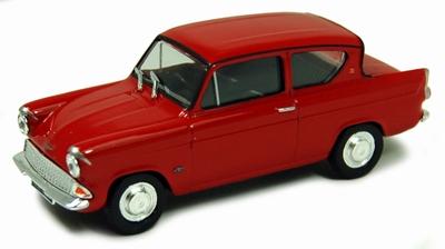 Cararama 1:43 Ford Anglia MKI rood