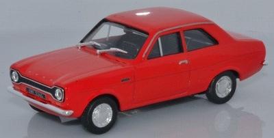 Cararama 1:43 Ford Escort MK1 rood