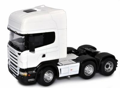 Cararama 1:50 Scania Cab wit trekker