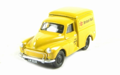 Classix by Pocketbond 1:76 Morris Minor Van British Rail